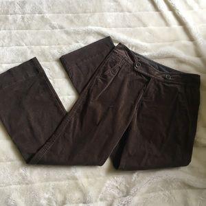Eddie Bauer velvet trouser